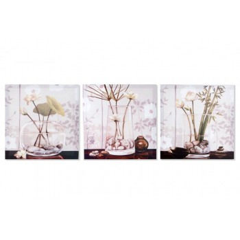 TABLE WITH VASE 40X40 CU119994