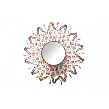 WALL MIRROR WITH GEM 50CM...