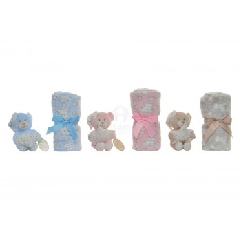 SET BABY BEAR-BLANKET ITEM...