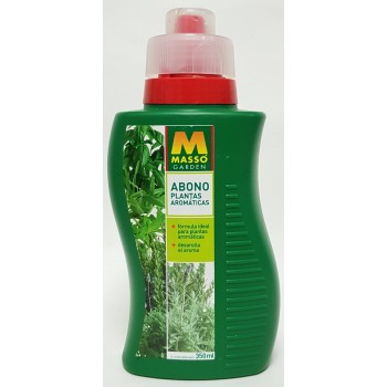 MASSO ABONO AROMATICAS 350ML.